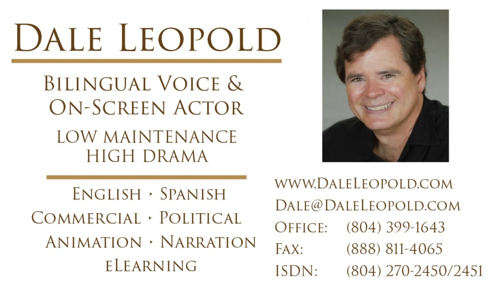 Dale Leopold Head Shot